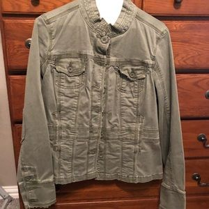 Lucky brand fitted utility jacket